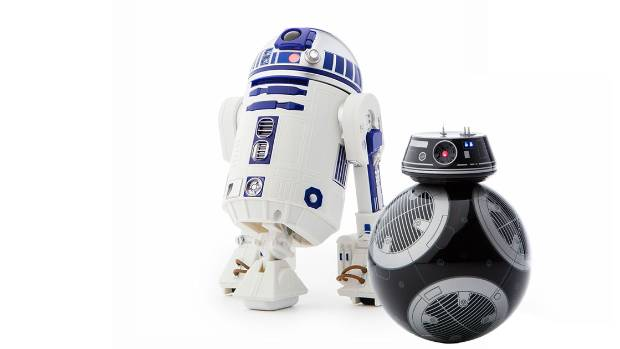Review sphero r2 d2 and bb 9e star wars droids - Robot blanc star wars ...
