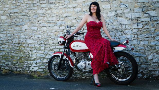 Stephanie Acraman will be riding along for the Distinguished Gentlemens Ride in Hamilton this year - though not in a dress.