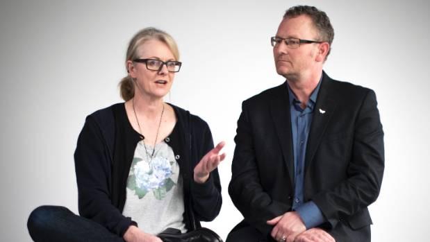 The Changeover directors Miranda Harcourt and Stuart McKenzie.