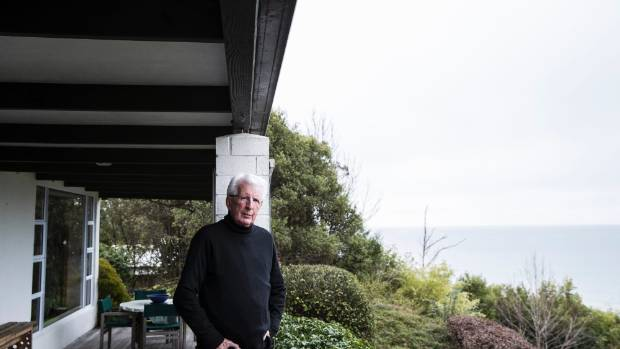Richard Griffin at his Ruby Bay home.