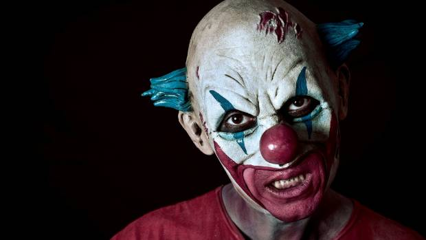 Scary clowns could overrun parts of Australia