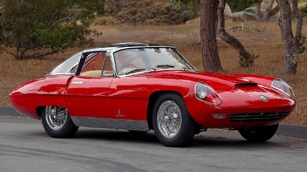 Alfa Romeo 6C 3000 CM (Competizione Maggiorata) Pininfarina Superflow IV.