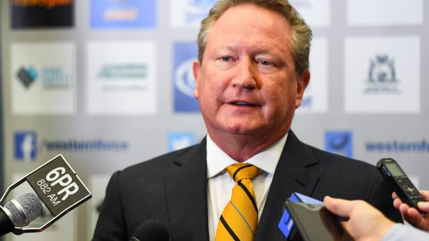 Andrew Forrest called the ARU's bluff when he offered up the money they had said it would take to save the Force, a ...