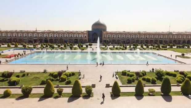 Naqsh-e Jahan (Imam) Square, Esfahan.