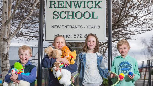 Ted McMurtry, Elizabeth Bowron, Emma Withers and Brody Price invite you along to the Renwick School Twilight Carnival.