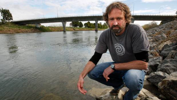 Freshwater ecologist Mike Joy sees the harm done to New Zealand's rivers.