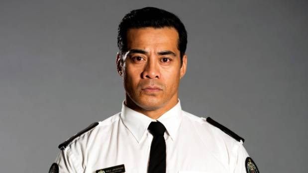 Robbie Magasiva as prison guard Will Jackson in the TVNZ drama series Wentworth.