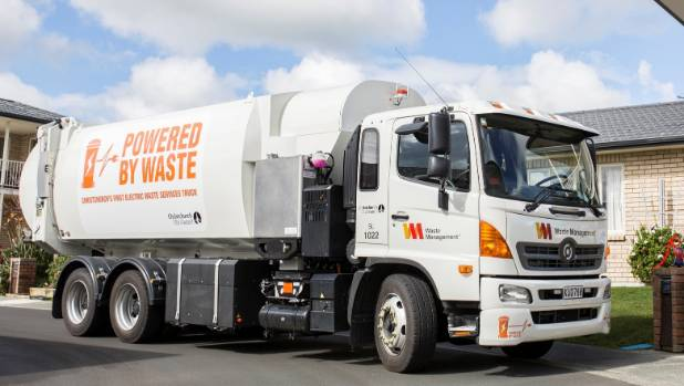 Waste Management Launches First Electric Rubbish Truck