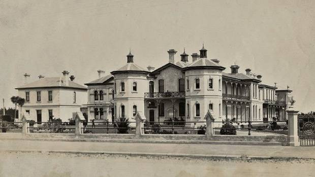The former Dee St Hospital in Invercargill
