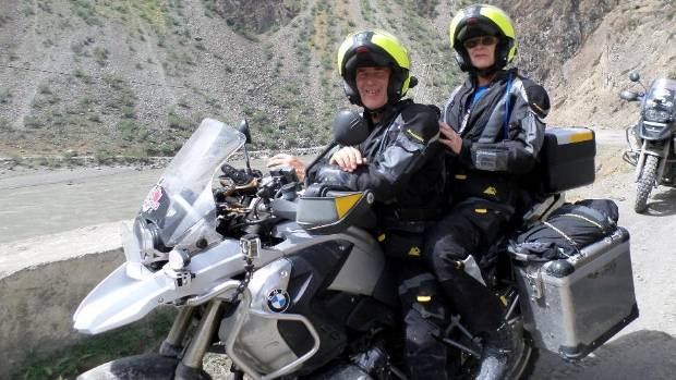 The Staffords traversed 21,044 kilometres over 12 weeks.