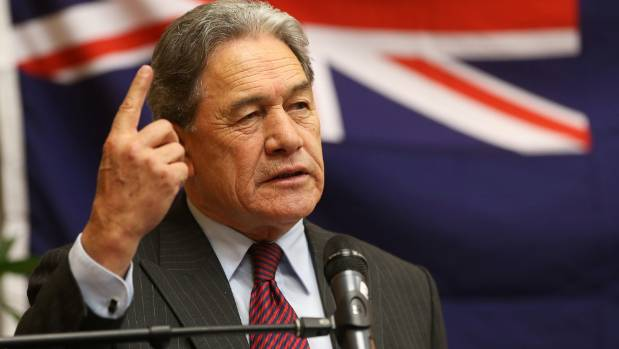 "Winston Peters: ""I think your ideas are preposterous. They're stupid, they're ridiculous."""
