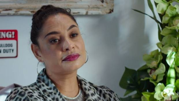 Nicole Whippy plays a real estate agent named Thelma in Auckward Love's new season.