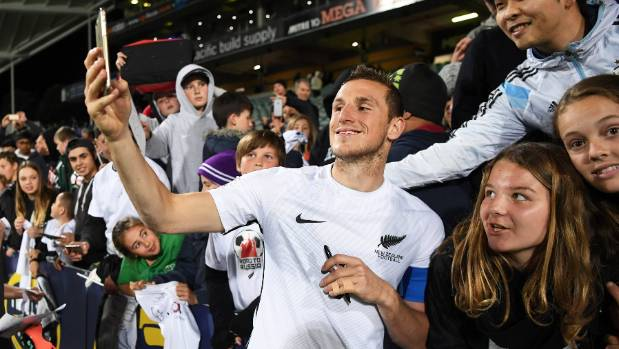 Chris Wood could hold the key to New Zealand's chances of making the World Cup.