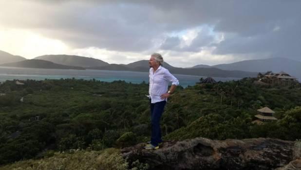 Richard Branson has survived Hurricane Irma on his private island