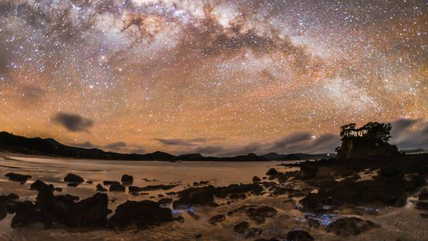 "Great Barrier is the only island in the world designated as a ""dark sky sanctuary""."