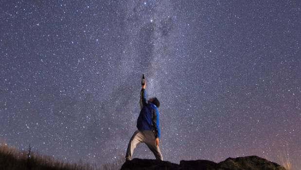 New Zealand's low light pollution makes it a stargazer's dream.