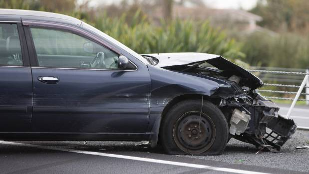 Research shows the average risk of death or serious injury for the driver in a 2015 car is half that of someone behind ...