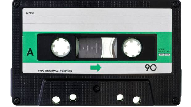 The cassette tape: 90 minutes of durable, highly portable low-fi goodness.