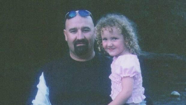 Neil Jones with his daughter, Caitlin.