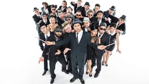 The Melbourne Ska Orchestra headlined the 2014 Hamilton Gardens Arts Festival.