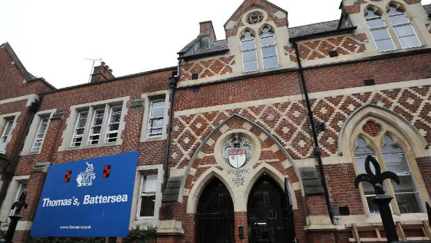 Annual fees to Thomas's Battersea school out of reach for many at NZ$31,656 per year.