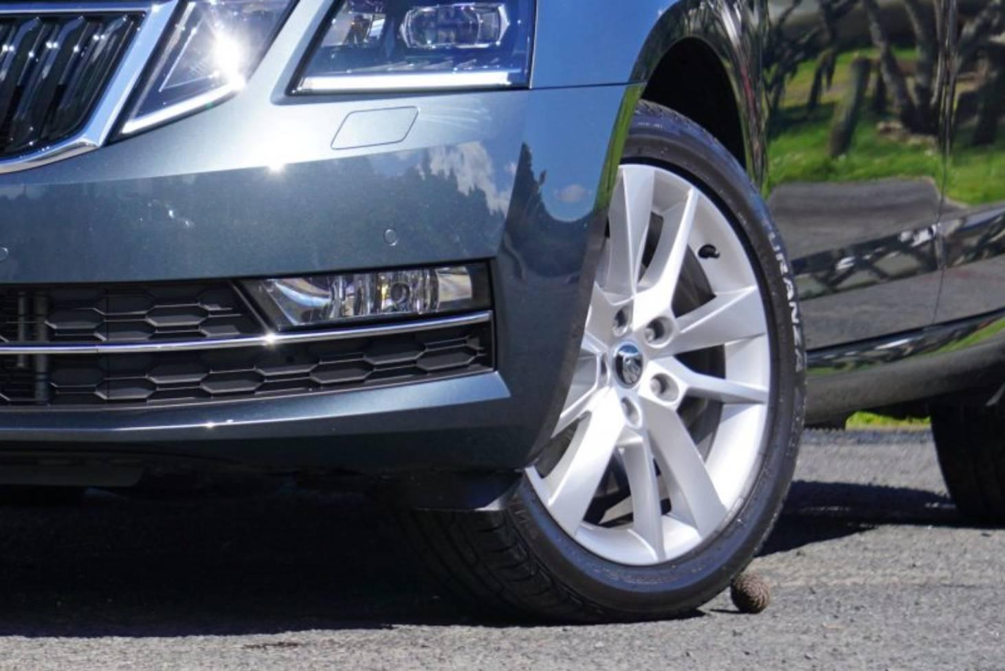 touareg tyre pressure front