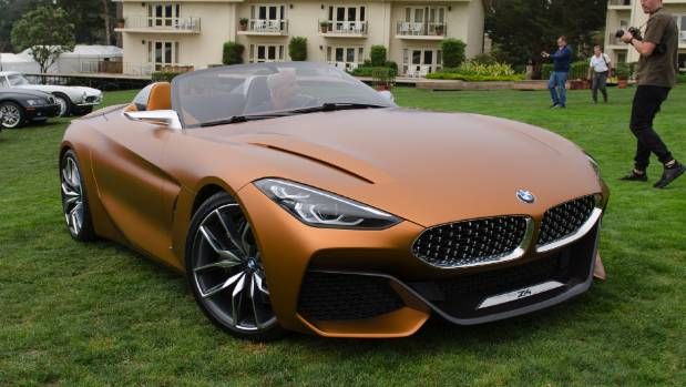 BMW's style star at this year's show: the Concept Z4.