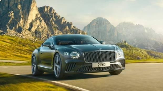 Bentley's revamped Continental GT has received plenty of hype prior to its public debut.