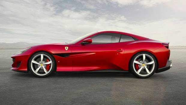 """Higher up the pricing food chain, Ferrari will show its California convertible replacement, the Portofino - """"an ..."""
