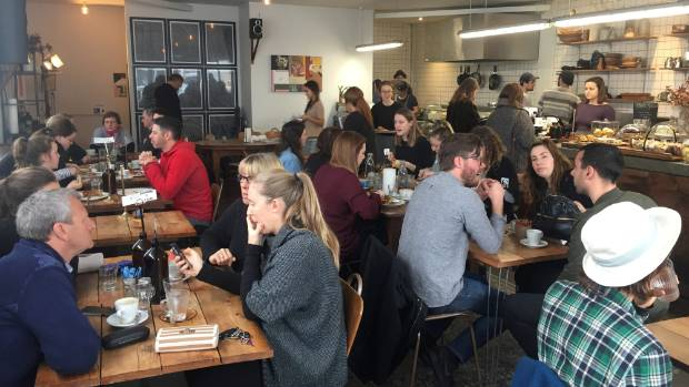Gentle Giant is a homely hipster-Scandi styled cafe.