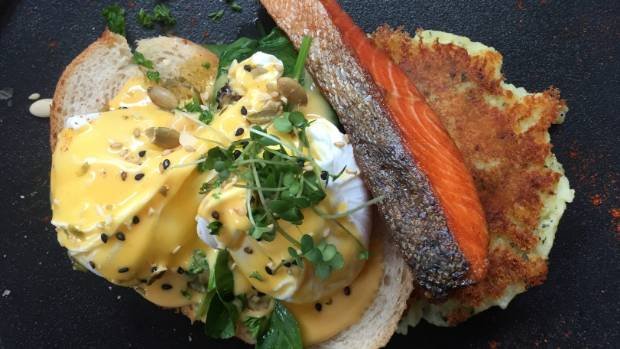 The eggs benedict with smoked salmon was good, but not great. Had I been too spoilt elsewhere?