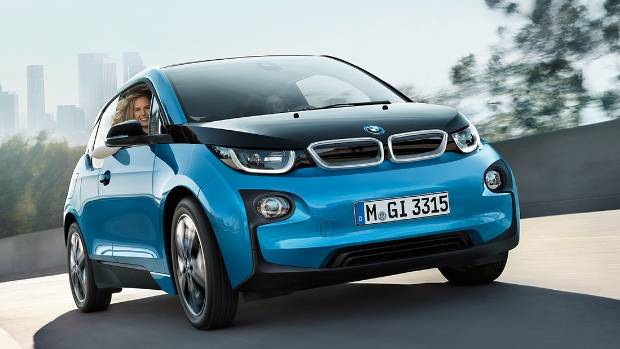BMW has softened the boxy look of its i3 electric city car in an effort to make a counter offer to Tesla's Model 3 debut.