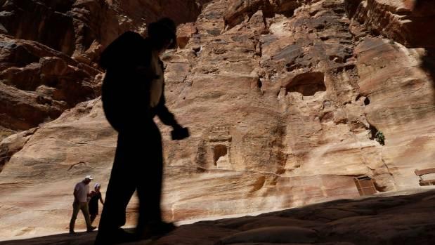 Petra was a major caravan centre established in the third-century BC.