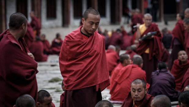 Debating Monks in Bhutan: Jakar, in Bhutan, has a large Buddhist school. For couple of evenings a week the cadets gather ...