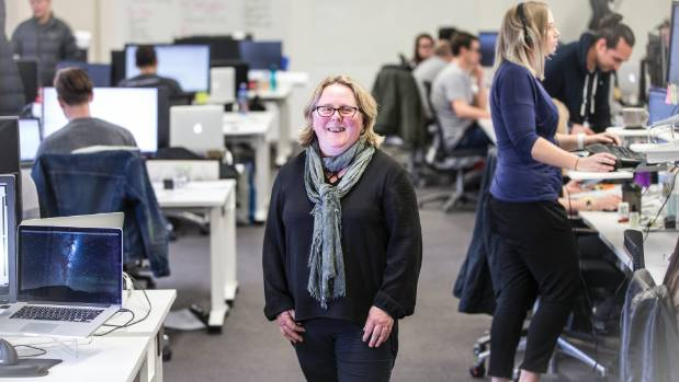 Alphero co-founder Caroline Dewe says she won't grow the business too much bigger as