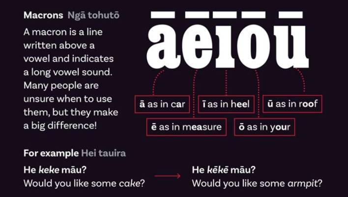 Why Stuff is introducing macrons for te reo Māori words
