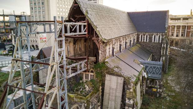 Christ Church Cathedral has been sitting derelict in the city centre for over six years.