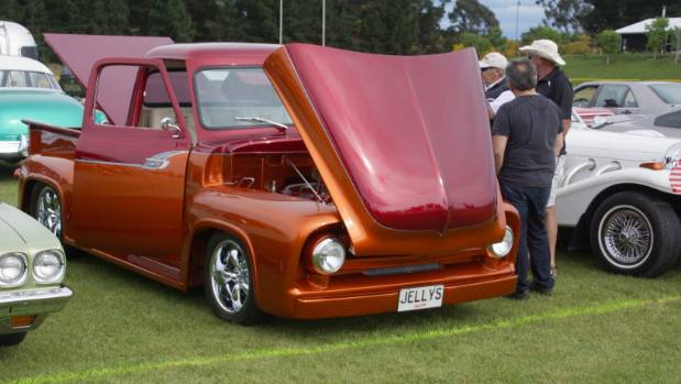 It took four years to restore the highly modified 1953 Ford F100 truck.