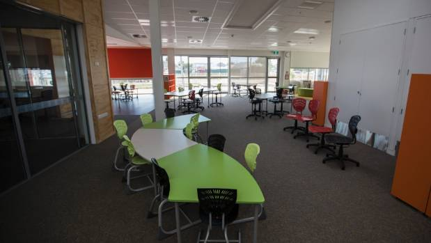 A junior room at Haeata Community Campus on opening day.