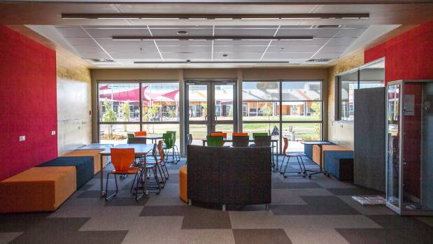 Christchurch's Haeata Community Campus is considered a super-school with modern learning environments. But a secondary ...