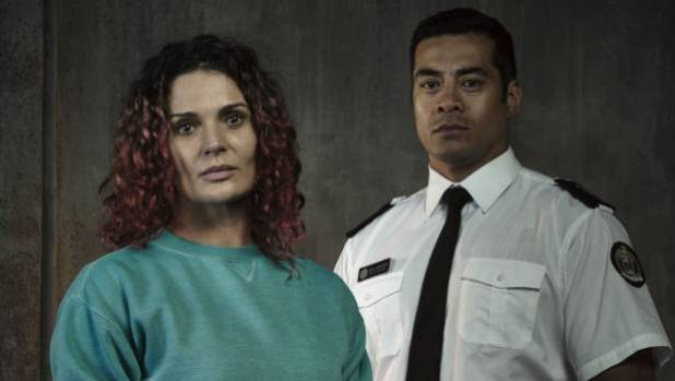 Kiwis Danielle Cormack and Robbie Magasiva as Bea Smith and Will Jackson in the Aussie prison drama Wentworth.