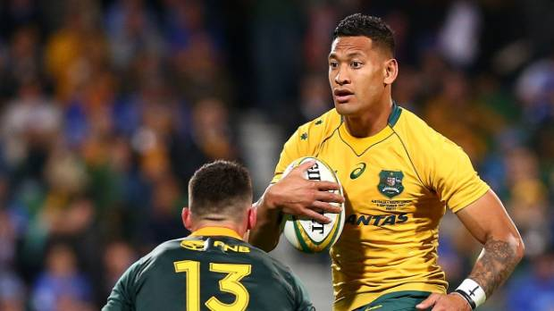Wallabies star Israel Folau has voiced his disapproval of same-sex marriage via Twitter.