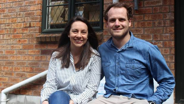 Amanda Morrissey-Brown and Cam Watson have elected to downsize in order to buy their first home.