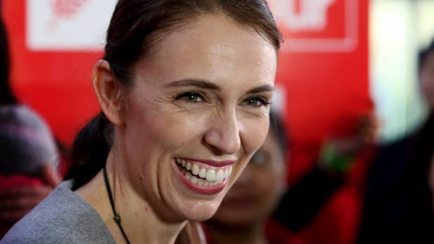 Labour Leader Jacinda Ardern will be the country's new prime minister.