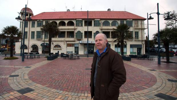Hydro Grand owner Allan Booth says a damning fire service report shows the building is too dangerous to be left standing.