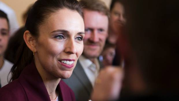 Jacinda Ardern - calling out her opponents as desperate liars.