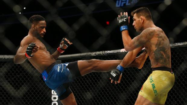 Rafael Dos Anjos was too good for Neil Magny during UFC 215