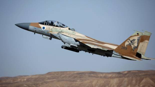 An Israeli fighter jet takes off during a training exercise in May. (File photo)