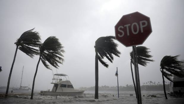 Shades of King Canute as Hurricane Irma visits Florida.