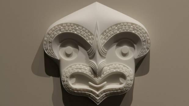 Kareama Taepa's $10,000 Award winning work Bicultural I.